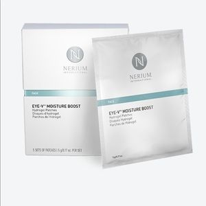 Eye-V Moisture Boost Hydrogel Patches.